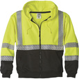FREE SHIPPING — Gravel Gear Men's Class 3 Heavyweight Hooded Safety Sweatshirt — Lime, Large The price is $59.99.