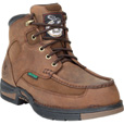 Georgia Men's 6in. Athens Waterproof Work Shoes - Brown, Size 10 Wide, Model# G7403 The price is $144.99.