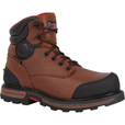 FREE SHIPPING — Rocky 6in. Waterproof Steel Toe Work Boots - Tan, Size 11 1/2, Model# RKY074 The price is $69.99.