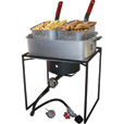 King Kooker Propane Cooker With Rectangular Pan — 54,000 BTU Burner, Model# 1618 The price is $109.99.