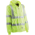 Berne Men's Class 3 High Visibility Hooded Sweatshirt — Lime, 3XL The price is $49.99.