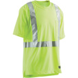 Berne Men's Class 2 High Visibility Short Sleeve Safety T-Shirt — Lime, XL/Tall, Model# HVK002YW The price is $14.99.