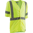 Berne Men's Class 3 High Visibility Safety Vest —Lime, 4XL/Big, Model# HVV041 The price is $14.99.