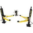 Dannmar MaxJax 2-Post Portable Car Lift — 6000-Lb. Capacity, Model# 120050/Maxjax