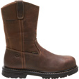 FREE SHIPPING — Wolverine Men's Nolan 10in. Composite Toe Waterproof Wellington Boots - Dark Brown, Size 10 Extra Wide, Model# 10108 The price is $134.99.