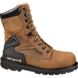 Carhartt Men's 8in. Waterproof Steel Toe Work Boots - Bison Brown, Size 12, Model# CMW8200 The price is $159.99.