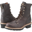 Carolina Men's 8in. Logger Work Boots - Brown, Size 14 Wide, Model# 821 The price is $109.99.