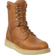 Georgia Men's 8in. Wedge Steel Toe EH Work Boots - Barracuda Gold, Size 9, Model# G8342 The price is $149.99.