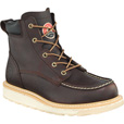 Irish Setter by Red Wing Men's 6in. Waterproof Aluminum Moc Toe Work Boots — Brown, Size 12 Wide The price is $139.99.