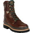FREE SHIPPING — Georgia Men's Giant 8in. Steel Toe Work Boots - Brown, Size 11, Model# G8374 The price is $134.99.