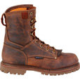 FREE SHIPPING — Carolina Men's 8in. Waterproof Composite Toe Work Boots - Brown, Size 10 1/2 XXW, Model# CA8528 The price is $159.99.