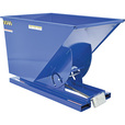 Vestil Self-Dumping Steel Hopper — Bumper Release, 6000-lb. Capacity, 1 Cubic Yard Volume, Model# D-100-HD The price is $979.99.
