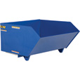 Vestil Self-Dumping Steel Hopper — Low Profile, 90°, 2,000-lb. Capacity, 1 1/2 Cubic Yard Volume, Model# H-150-LD The price is $859.99.