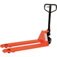 Vestil Full-Featured Pallet Truck — Poly-On-Steel Wheels, 5,500-lb. Capacity, 49in.L x 22in.W Overall Fork, Model# PM5-2048 The price is $324.99.