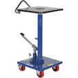 Vestil Manual Hydraulic Post Table — 300-Lb. Capacity, Model# HT-03-1616A The price is $499.99.