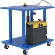 Vestil DC Power Hydraulic Post Table — 2,000-Lb. Capacity, Model# HT-20-3036-DC The price is $1,749.99.