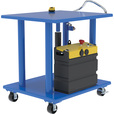 Vestil DC Power Hydraulic Post Table — 2,000-Lb. Capacity, Model# HT-20-3036-DC The price is $1,869.99.
