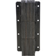 Vestil Laminated Dock Bumper — Vertical, 11in.W x 4 1/2in.D x 30in.H, Model# V-1130-4.5 The price is $69.99.