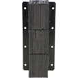 Vestil Laminated Dock Bumper — Vertical, 11in.W x 6in.D x 30in.H, Model# V-1130-6 The price is $124.99.