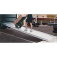 Vestil Aluminum Walk Ramp — Steel-Hook Style, 15ft.L x 38in.W, Model# AWR-38-14B The price is $839.99.