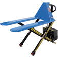 Vestil Heavy-Duty Tote Lifter — DC Powered, 3,000-Lb. Capacity, Model# L-270-DC-HD The price is $1,699.99.
