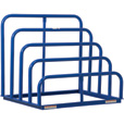 Vestil Variable Height Sheet Rack — 47in.W x 36in.D x 40in.H, 4 Bays, Welded, Model# VHSR-4 The price is $539.99.