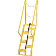 Vestil Alternating-Tread Stairs — 7 Steps, 56° Step Angle, Model# ATS-4-56 The price is $919.99.