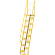 Vestil Alternating-Tread Stairs — 13 Steps, 56° Step Angle, Model# ATS-8-56 The price is $1,284.99.