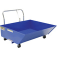 Vestil Low-Profile Parts Hopper — 2,000-lb. Capacity, 1/2 Cubic Yard Volume, Model# HOP-LP The price is $779.99.