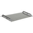 Vestil Mini Dockplate — Aluminum, 700-Lb. Capacity, 18in.L x 36in.W, Model# AMD-3618 The price is $174.99.