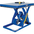 Vestil Scissor Lift Table — Rotary Air/Hydraulic, 48in.L x 40in.W, Model# AHLT-4048-3-43 The price is $3,349.99.