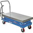 Vestil Scissor Cart — Air Hydraulic, 1500-Lb. Capacity, 47 1/4in.L x 24in.W, Model# AIR-1500-D The price is $1,199.99.