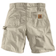 Carhartt Men's Work Short - Tan, 32in. Waist, Model# B144 The price is $29.99.