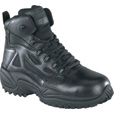 Reebok Men's Rapid Response 6in. Composite Toe Zip Boot - Black, Size 7 1/2 Wide, Model# RB8674 The price is $112.99.