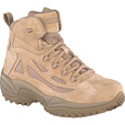 FREE SHIPPING — Reebok Men's Rapid Response 6in. Zip Boot - Desert Tan, Size 15 Wide, Model# RB8695 The price is $110.99.