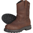 FREE SHIPPING - Gravel Gear Men's Waterproof 10in. Steel Toe Wellington Boot - Brown, Size 9 1/2 The price is $97.49.