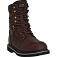 McRae Men's 8in. Ruff Ryder Work Boots - Dark Brown, Size 7 1/2, Model# MR88144 The price is $81.00.
