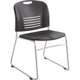 Mayline Safco Vy Chairs with Sled Base — Set of 2, Black, Model# 4292BL The price is $239.99.