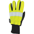 Richlu Men's High Visibility Traffic Safety Gloves — Lime/Black, XL The price is $17.99.