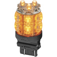 Trux Accessories 3157 Square Stop/Tail Function LED Push-In Light Bulb — 13 Diodes