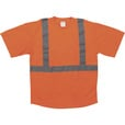 Forester Men's Class 2 High Visibility Short Sleeve T-Shirt — Orange, Large The price is $9.99.