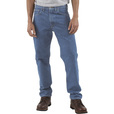 Carhartt Men's Traditional Fit Straight Leg Jean - Stonewash, 38in. Waist x 34in. Inseam, Regular Style, Model# B18 The price is $29.99.