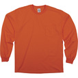 Gildan Men's Non-Rated High Visibility Long Sleeve Pocket T-Shirt — Orange, XL, Model# G2410 The price is $8.99.