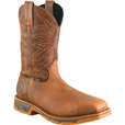 FREE SHIPPING — Irish Setter by Red Wing Men's 11in. Irish Setter Marshall Pull-On Square Toe Boots - Steel Toe, Brown, Size 9 1/2 Wide The price is $174.99.