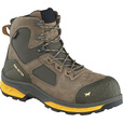 FREE SHIPPING — Irish Setter Men's Kasota 6in. Waterproof Nano-Carbon Composite Safety Toe Work Boots - Brown/Gold, Size 10 1/2, Model# 83646D 105 The price is $154.95.