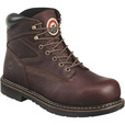 FREE SHIPPING — Irish Setter Men's Farmington 6in. King Toe Steel Toe Work Boots - Brown, Size 9, Model# 83624D 090 The price is $144.95.
