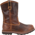 FREE SHIPPING — Carolina Men's 10in. Steel Toe Ranch Wellington Work Boots - Tan, Size 7 1/2, Model# CA5532 The price is $79.99.