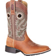 Durango Men's 11in. Mustang Riding Cowboy Boots — Dark Brown, Size 13 Wide, Model# DDB0119 The price is $149.99.