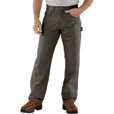 Carhartt Men's Loose Fit Canvas Carpenter Jean - Charcoal, 32in. Waist x 32in. Inseam, Regular Style, Model# B159 The price is $39.99.