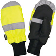 Richlu Men's High Visibility Traffic Safety Mitts — Lime, XL The price is $17.99.